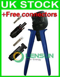 MC4 Crimp Tool Crimping Connector Solar PV Crimper