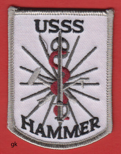 USSS SECRET SERVICE HAMMER MEDICAL RESPONSE TEAM SHOULDER PATCH EMT