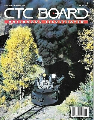 Ctc Board  284 June 2002 East Broad Top Ebt Pennsylvania Mexican Steam Rayonier