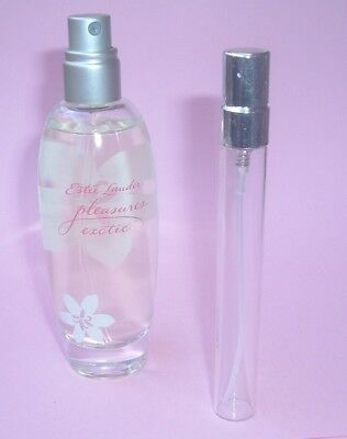 LIMITED EDITION ESTEE LAUDER PLEASURES EXOTIC PERFUME  SPRAY 0.33 oz  (10 ml) (Estee Lauder Limited Edition)