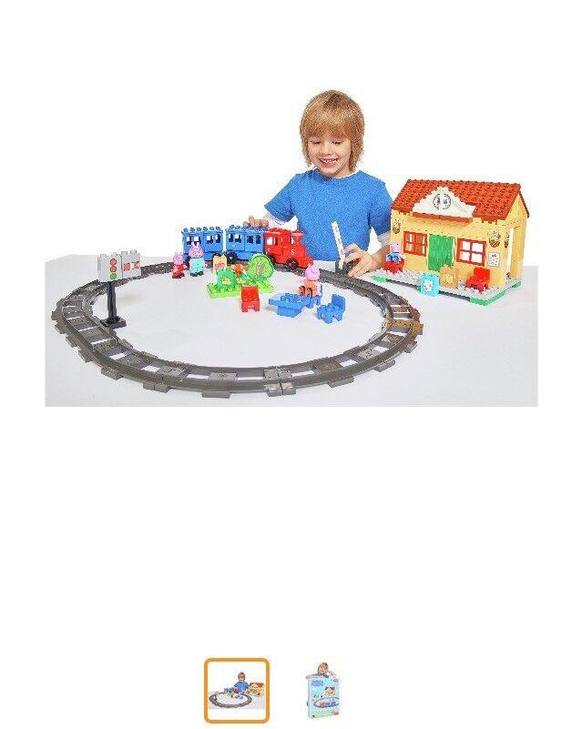 New Peppa Pig Train Construction Set