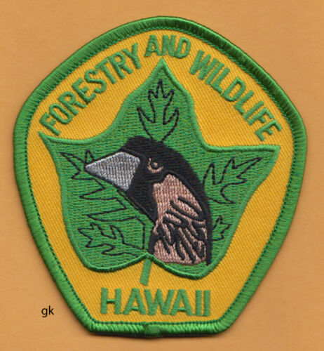 HAWAII DEPARTMENT OF FORESTRY & WILDLIFE  PATCH