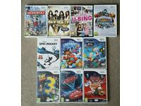 WII GAMES DISNEY CARS, TOY STORY, MICKEY AND MORE £3 EACH.