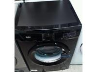 New graded Bush 8kg black washing machine with 12 months guarantee