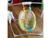 Fisher price forest friends cradle/swing