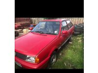 Classic Volkswagen Polo Fox Coupe barn find project restoration old rare car