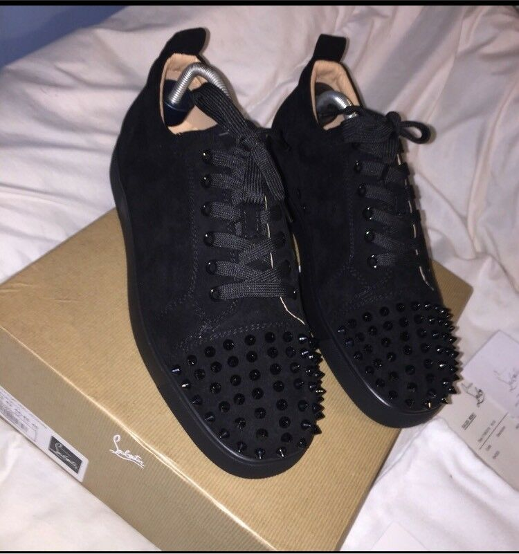 dc95ffcf25ad Men s Black Christian Louboutin Trainers Size 10.5