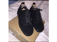 c4c3ec5257ae Men s Black Christian Louboutin Trainers Size 9