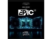 4 x Eric Prydz EPIC 5.0 tickets in London