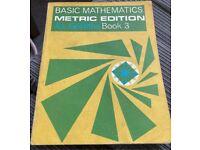 Basic Mathematics Metric Edition Book 3