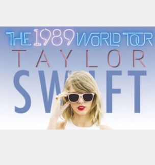 Want 2x taylor swift tickets seated or general Woodville Charles Sturt Area Preview