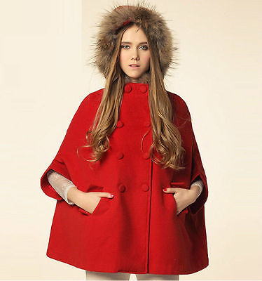 The cloak coat is a big trend for this Winter