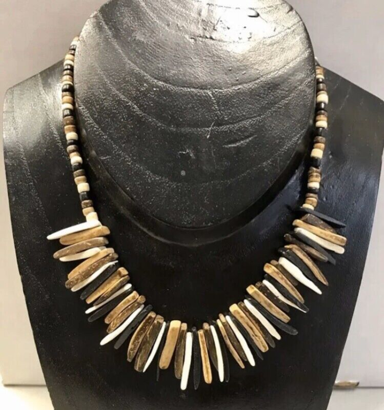 6  Coco Bead & Coco Spike necklaces Wholesale Jewelry