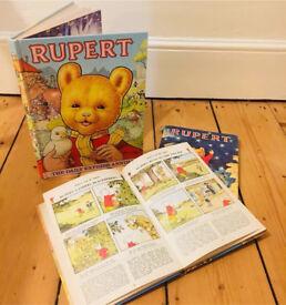 Rupert Annuals, 1978-1981