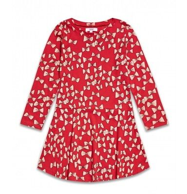 Mädchen Sweatkleid Kleid Baumwolle Freizeit Langarm 110/116 - 116/122 ()