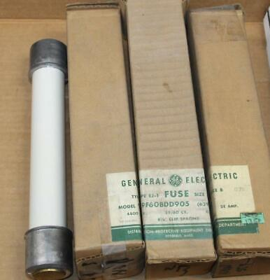 One General Electric 9f60bdd905 Current Limiting Fuse Type Ej-1 More Available