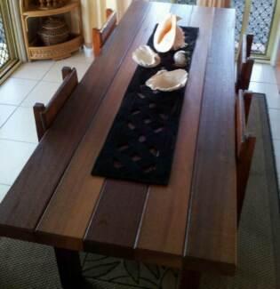 Reclaimed Cedar Wood Dining Table (seats 6) Millaa Millaa Tablelands Preview