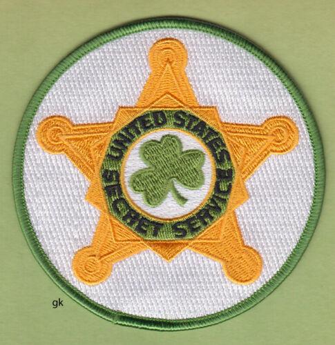 US SECRET SERVICE  IRISH POLICE SHOULDER PATCH