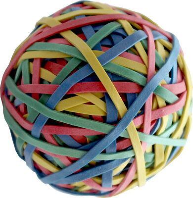 Ca 190 Gummiringe als Ball Größe 40 x 1,1 x 3 mm Gummibänder 60% Kautschuk