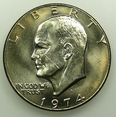 1974 D UNCIRCULATED CLAD EISENHOWER DOLLAR B04