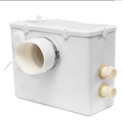 220v 500w Sanitary Macerator Pump Auto Disposal Crush Waste Water Toilet Sink Ss