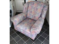 Shabby Chic Style Armchair (Read ad for location)