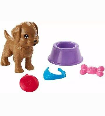 Mattel Barbie Puppy Set With Accessories