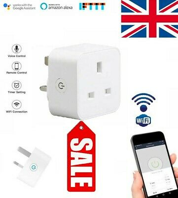 Smart Plug Works With Alexa & Google Assist IFTTT Smart Life UK Best Offer (Best Smart Plug Uk)