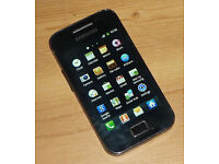 SAMSUNG GALAXY ACE S5830 (ORANGE) SMARTPHONE ANDROID BOXED