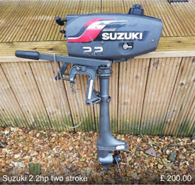 Suzuki 2.2hp two stroke outboard engine