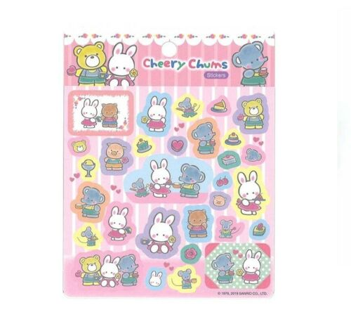 NEW Sanrio Cheery Chums Plastic stickers