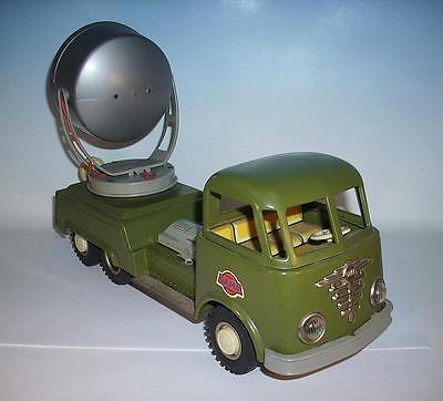 Gama Blech DAF Militär Scheinwerfer Wagen mit Morsealpabet 50/60er Jahre #437