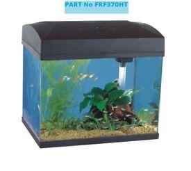 Fish R Fun Rectangular Aquarium, 37 x 25 x 33.5 cm, Black FRF370HT Brand New Boxed 3 AVAILABLE