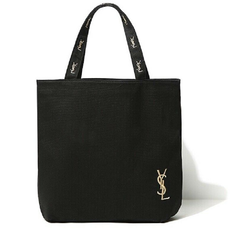 yves saint laurent shopping tote bag canvas
