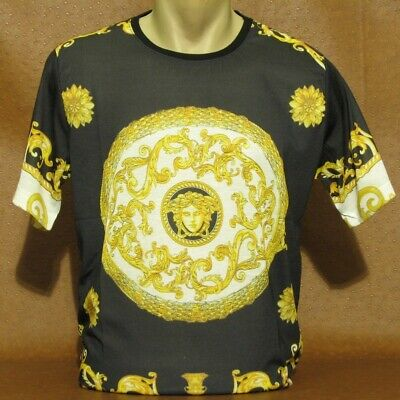 Brand New With Tags Men's VERSACE Short Sleeve T-SHIRT Size XXL