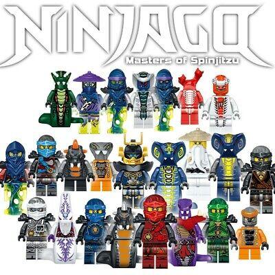 Ninjago Lot Serpentine Set 24 Minifigures + Accessories - USA SELLER