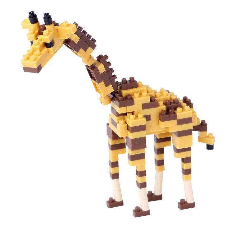 Giraffe Nanoblock Miniature Building Blocks New Sealed NBC 158