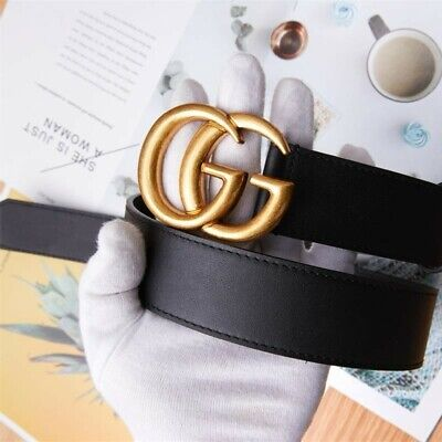 Only belt buckles!! Gucci vintage double G gold belt buckle 38mm