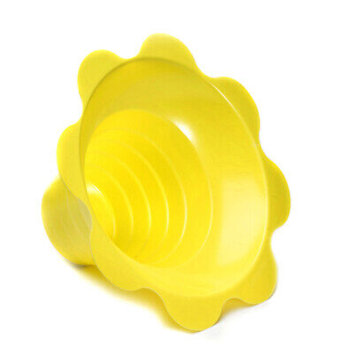Small Shaved Ice Sno Cone Flower Cups 4 Oz 1000 Count Yellow