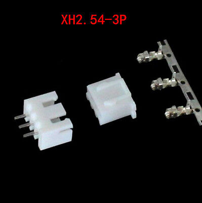 60pcs Xh2.54-3p Connector Kits 2.54mm Pin Header 20 3p Terminal 20housing
