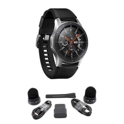 BUNDLE Samsung Galaxy Bluetooth Watch 46mm Silver SM-R800NZSCXAR -   84 - BUNDLE Samsung Galaxy Bluetooth Watch 46mm Silver SM-R800NZSCXAR