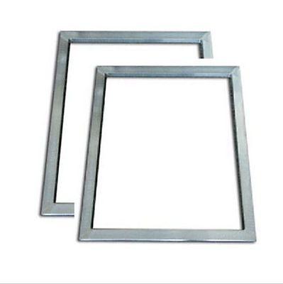 2pcs Silk Screen Printing Aluminum Frame Outside Size 20x30cm