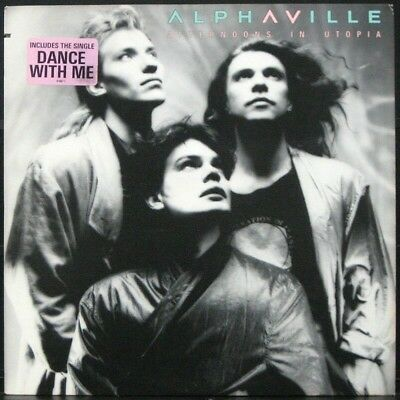 ALPHAVILLE 'Afternoons In Utopia' Original 1986 1st press Never played Promo LP