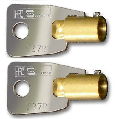 2 Protec Safe Toolbox Keys Pre-cut Codes Hmc00001-hmc31000 Gun Safes Ace Ii Lock