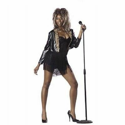 Private Dancer Tina Turner Rock Star Costume Adult - 2 Sizes - Tina Turner Costumes Adults