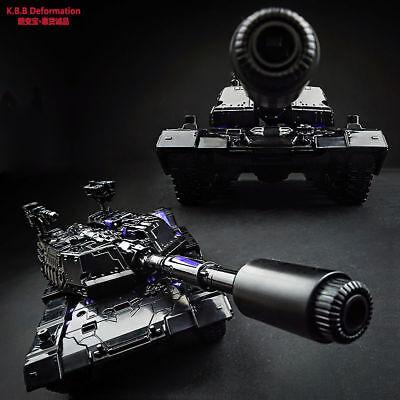 Kbb Megatron Alloy Parts Black Tank Obsidian Ver