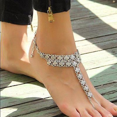 Fashion Anklet Foot Wedding Jewelry Beach Barefoot Wear