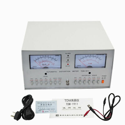 Tdm-1911 Automatic Distortion Meter 0.01 - 30 Audio Distortion Meter 110220v