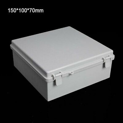 150x100x70 Waterproof Weatherproof Plastic Junction Box Electric Enclosure Case