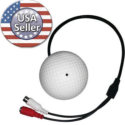 Sikker High Sensitive CCTV Microphone Audio sound input Mic